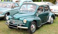 Renault 4CV découvrable 1954 - Automania 2017, Edling les Anzeling, Hara du Moulin