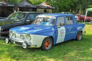 Renault 8 Sport - Retro Meus'Auto 2018, Lac de la Madine