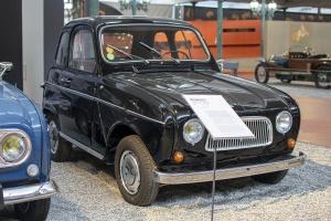 Renault 4 Bertin (prototype) 1969 -Cité de l'automobile, Collection Schlumpf, Mulhouse, 2020