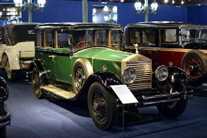 Rolls-Royce 20HP Limousine 1925 - Cité de l'automobile, Collection Schlumpf