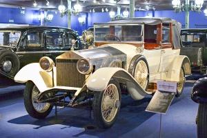 Rolls-Royce Silver Ghost 1921 - Cité de l'automobile, Collection Schlumpf
