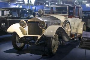 Rolls-Royce Silver Ghost 1921 - Cité de l'automobile, Collection Schlumpf  2020