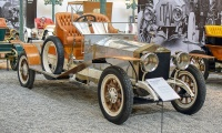 Rolls-Royce Silver Ghost biplace 1912 - Cité de l'automobile, Collection Schlumpf
