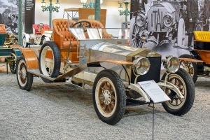 Rolls-Royce Silver Ghost biplace 1912 - Cité de l'automobile, Collection Schlumpf