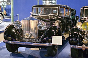 Rolls-Royce Phantom III 1938 limousine - Cité de l'automobile, Collection Schlumpf