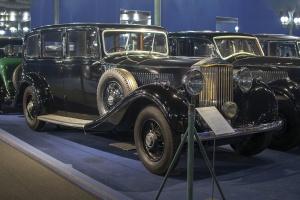 Rolls-Royce Phantom III 1938 limousine - Cité de l'automobile, Collection Schlumpf, Mulhouse 2020