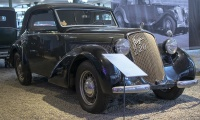 Steyr 220 cabriolet 1938 - Cité de l'automobile, Collection Schlumpf, Mulhouse, 2020