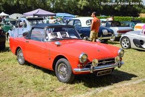 Sunbeam Alpine IV 1964 - Automania 2016, Château de Freistroff