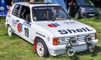 Talbot Samba Rallye groupe B - Retro Meus'Auto 2018, Lac de la Madine