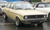 Volkswagen Polo I Derby LS - Modern Cars meet Classic Cars, Roost, 2019