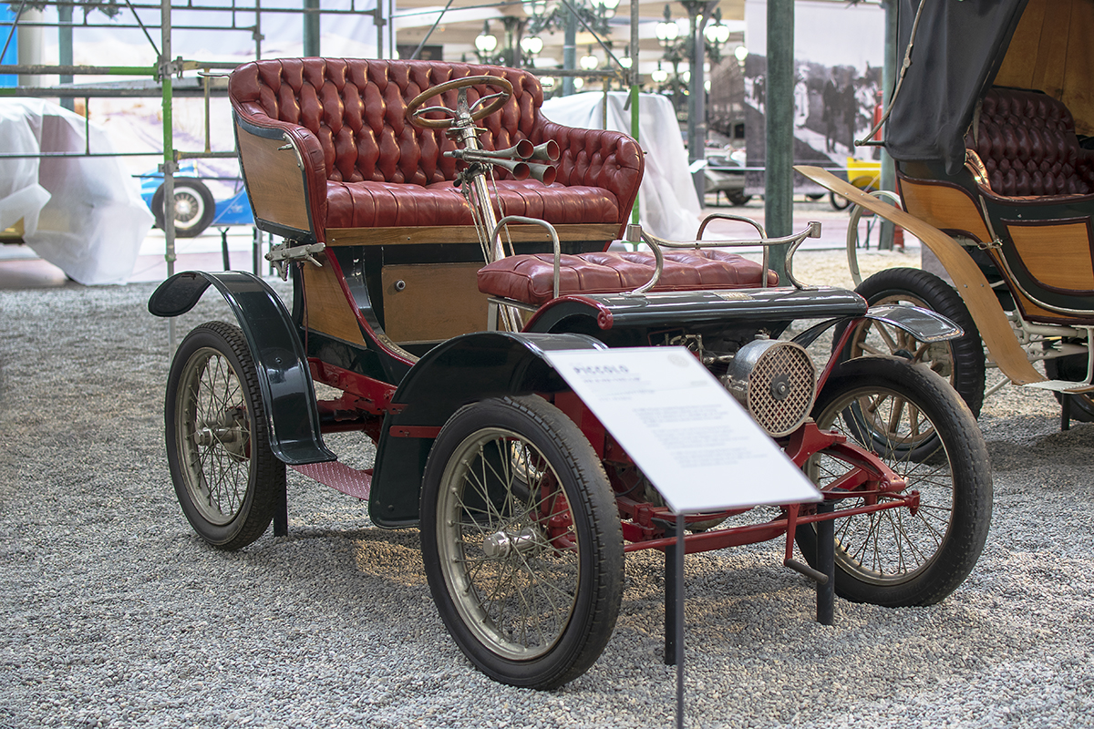 Apollo-Werke 5HP 1906 - Cité de l'automobile, Collection Schlumpf 2020