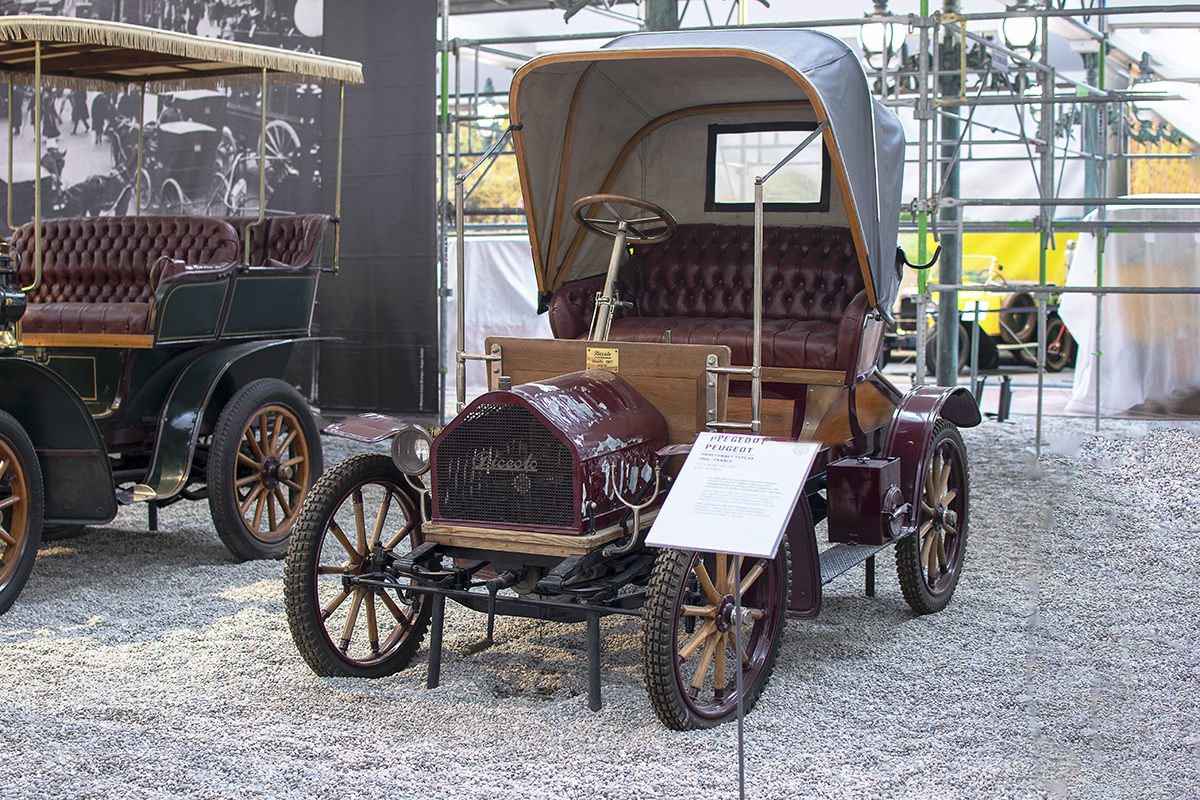 Apollo-Werke 5HP 1907 Phaeton - Cité de l'automobile, Collection Schlumpf 2020