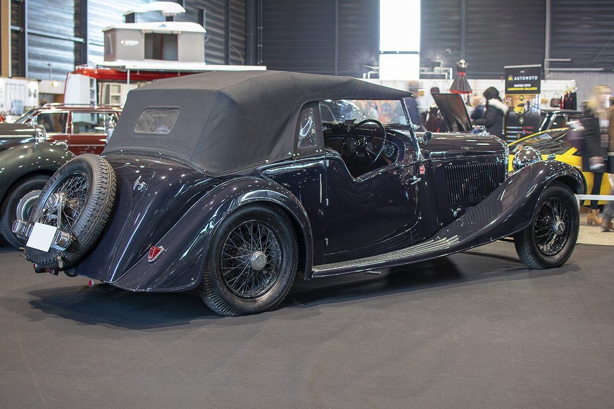 Bentley 4¼ Litre 1937 - Salon ,Auto-Moto Classic, Metz, 2019