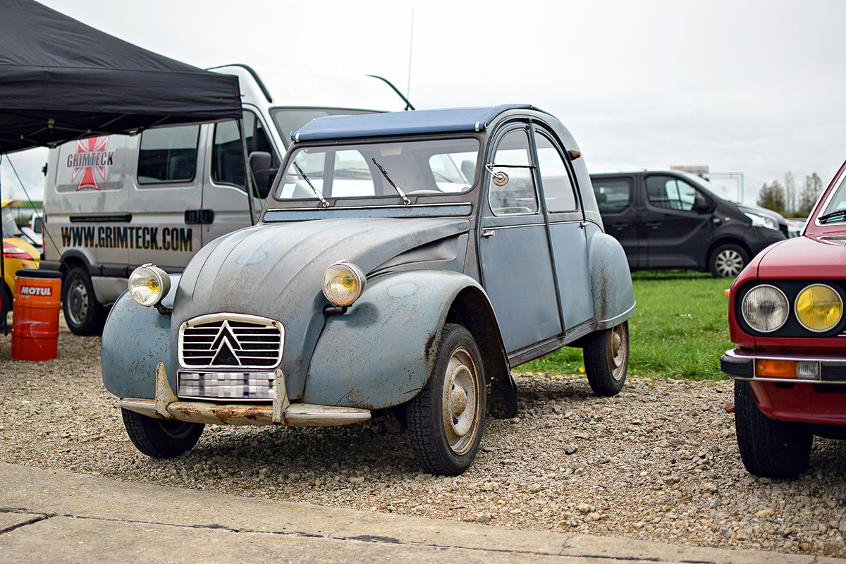Citroën 2 CV - Rottary Club 2016, Chambley