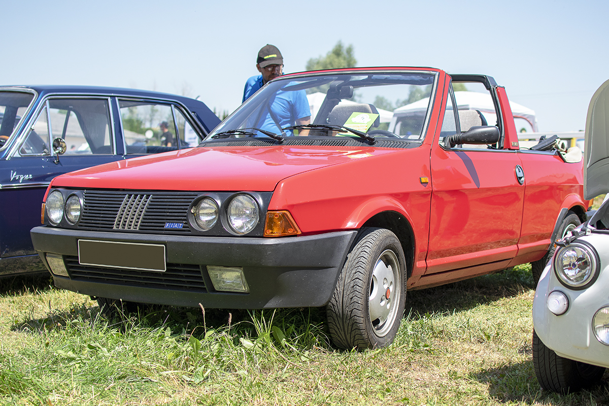 Fiat Ritmo II 85 S cabriolet - Automania 2019, Edling les Anzeling, Hara du Moulin