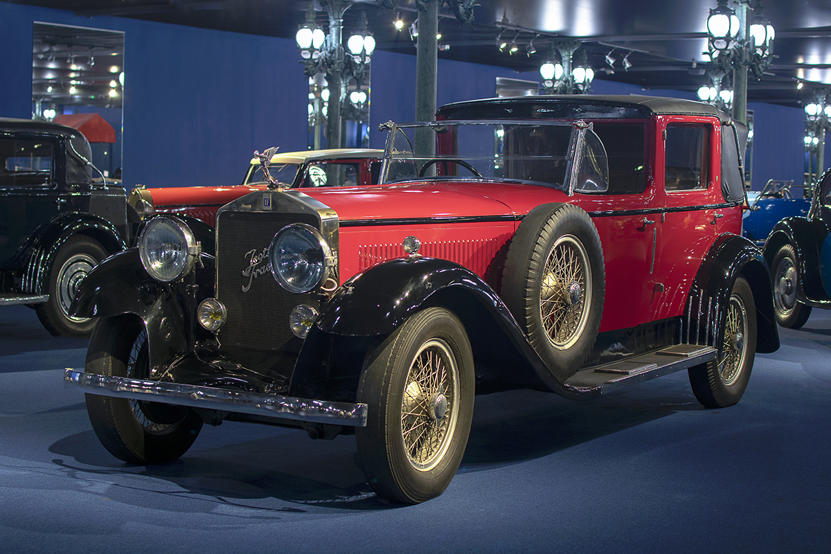 Isotta Fraschini 8A Laudelet 1928 - Cité de l'automobile, Collection Schlumpf (2)