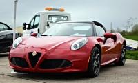 Alfa Romeo 4C Spider, Rottary Club 2016, Chambley