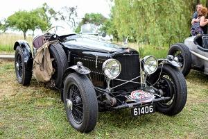 Alvis 12/70 carrosserie sport 1938 - Automania 2017, Edling les Anzeling, Hara du Moulin