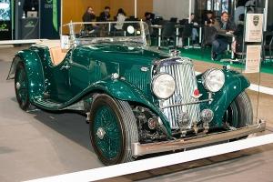 Aston Martin 15/98 1938 - Salon Auto-Moto Classic Metz 2018