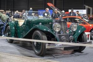 Aston Martin 15/98 1938 - Salon ,Auto-Moto Classic, Metz, 2019
