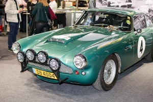 Aston Martin DB4 - Luxembourg Motor Show 2018