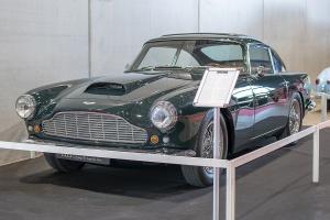 Aston Martin DB4 série 2 1960 - Salon ,Auto-Moto Classic, Metz, 2019