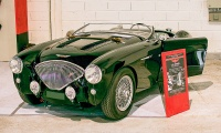 Austin-Healey 100 BN1 1953 - Salon Auto-Moto Classic Metz 2018