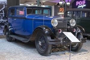 Ballot RH3 Berline 1930 - Cité de l'automobile, Collection Schlumpf 2020
