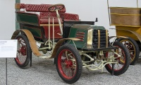 Baudier 3 HP Tonneau 1900 - Cité de l'automobile, Collection Schlumpf 2020