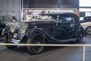 Bentley 4¼ Litre 1937 - Salon ,Auto-Moto Classic, Metz, 2019