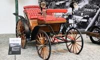 Benz Victoria Vis à vis 1893 - Cité de l'automobile, Collection Schlumpf