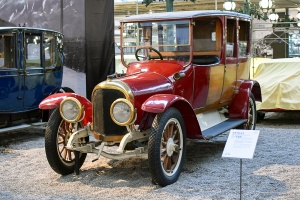 Benz type GR Coupé Chauffeur 1918 - Cité de l'automobile, Collection Schlumpf