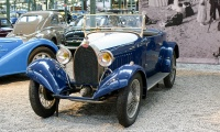 Bugatti type 40 roadster 1926 - Cité de l'automobile, Collection Schlumpf