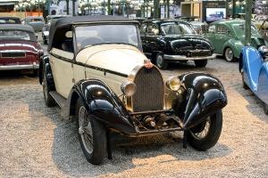 Bugatti type 43 1929 - Cité de l'automobile, Collection Schlumpf
