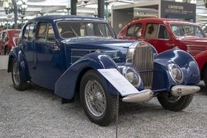 Bugatti type 57C Galibier 1939 - Cité de l'automobile, Collection Schlumpf, Mulhouse, 2020