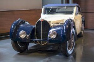Bugatti type 57S cabriolet 1937 - Cité de l'automobile, Collection Schlumpf, Mulhouse, 2020