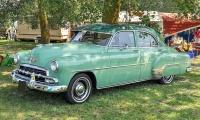 Chevrolet Deluxe Sedan 1952 - Retro Meus'Auto 2018, Lac de la Madine