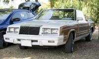 Chrysler Le Baron II cabriolet 1982 - Rêve américain, Balastière Meeting, Hagondange, 2019