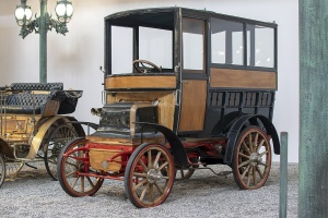 Daimler Bus 1899 - Cité de l'automobile, Collection Schlumpf 2020
