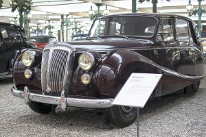 Daimler Regency DF 302 Limousine 1954 - Cité de l'automobile, Collection Schlumpf 2020
