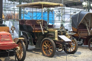 Darracq type C Tonneau 1901 - Cité de l'automobile, Collection Schlumpf 2020