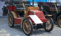 Darracq type L Tonneau 1903 - Cité de l'automobile, Collection Schlumpf 2020