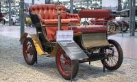 De Dion Bouton type E Biplace 1901 - Cité de l'automobile, Collection Schlumpf 2020