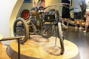 De Dion Bouton tricycle  - L'Aventure Michelin Clermont-Ferrand