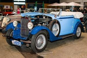 Delage D6 Cabriolet 1932 - Salon Auto-Moto Classic Metz 2018