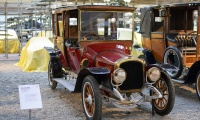 Delahaye type 32 Coupé Chauffeur 1914 - Cité de l'automobile, Collection Schlumpf
