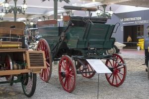 Delamare-Debouteville et Malandin 1884 (réplique) - Cité de l'automobile, Collection Schlumpf, Mulhouse, 2020