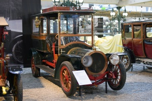 Delaunay-Belleville F6 bus hôtel 1909 - Cité de l'automobile, Collection Schlumpf