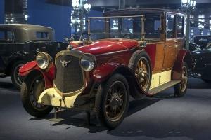 Farman A6 B Coupé chauffeur 1923 - Cité de l'automobile, Collection Schlumpf 2020