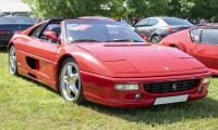 Ferrari 355 GTS 1996 - Automania 2019, Edling les Anzeling, Hara du Moulin